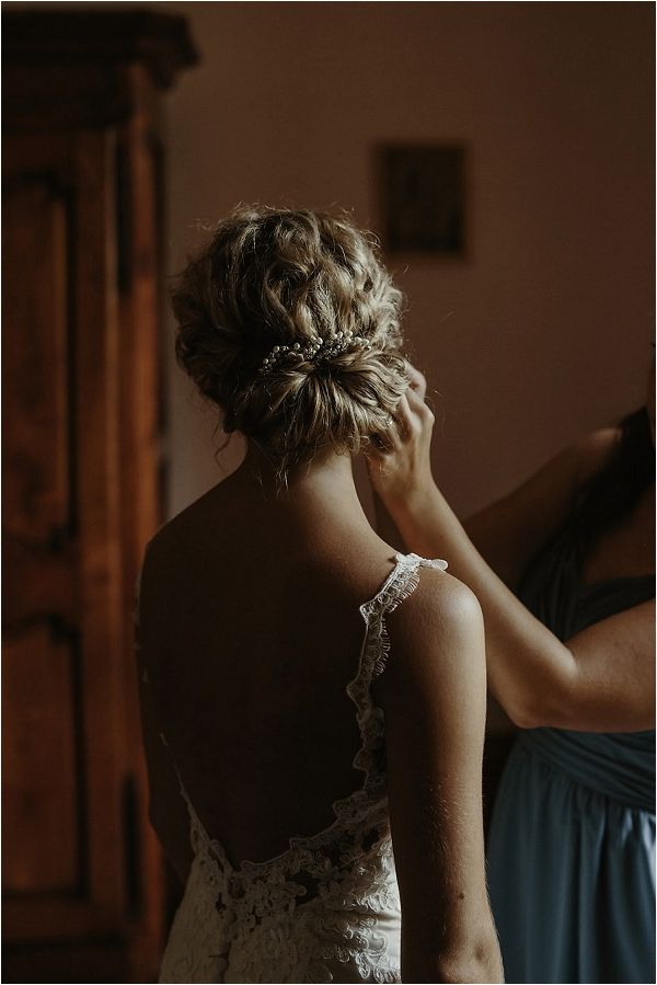 curly bridal up hairstyle | Images by Danelle Bohane