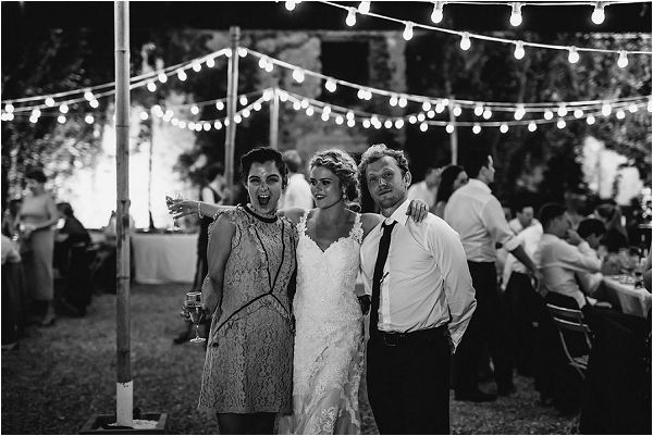 fastoon lights at a wedding | Images by Danelle Bohane