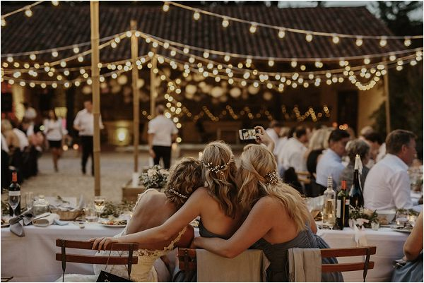 fastoon lights for outdoor wedding | Images by Danelle Bohane