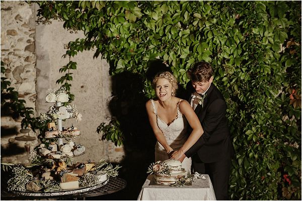 french cheese wedding cake | Images by Danelle Bohane
