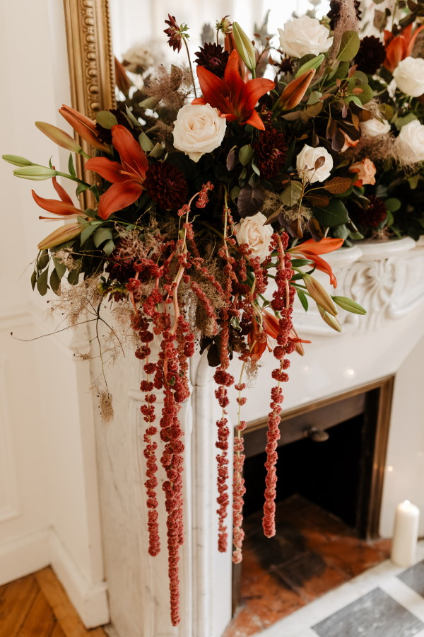 Autumn Wedding Floral Arrangement