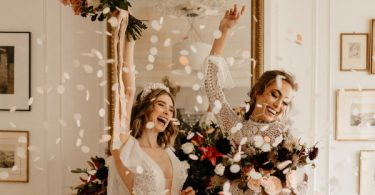 Haussmannian Apartment Wedding in Paris