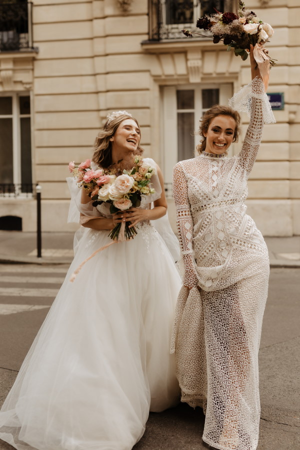Haussmann Buildings France Weddings