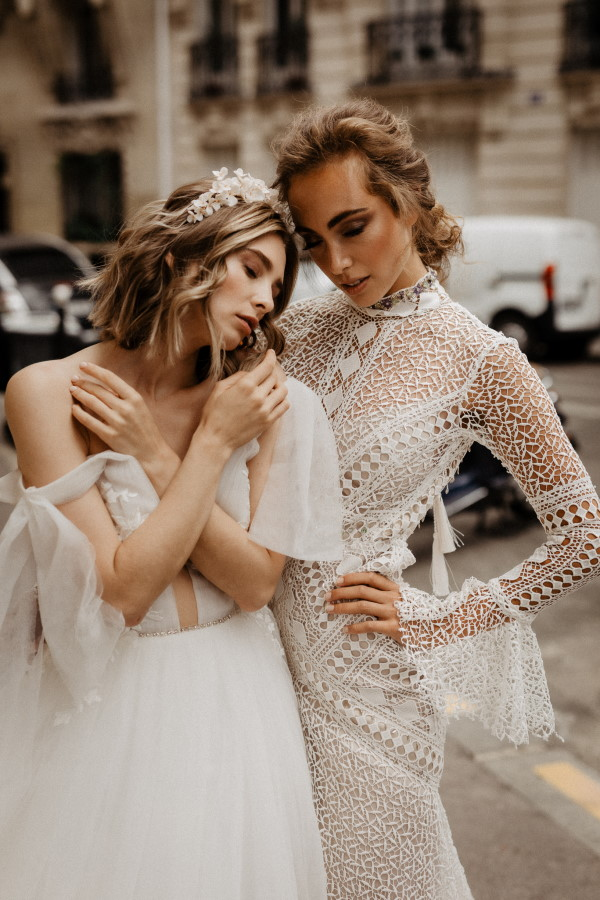 Two Brides in Paris