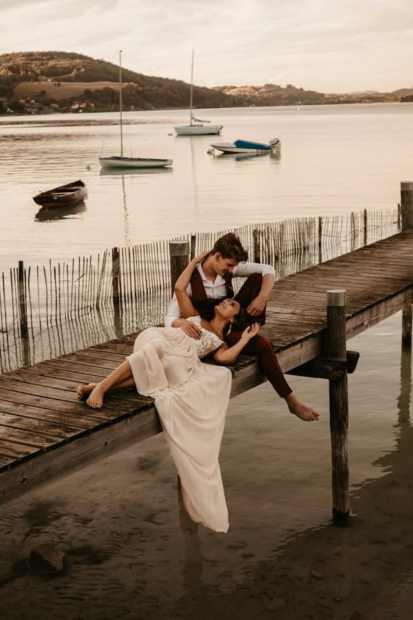 Bohemian wedding france