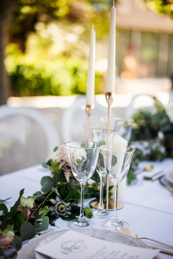 French wedding table Setting