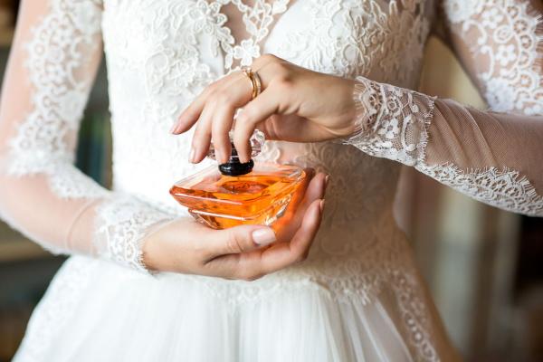 Bride Perfume Closeup