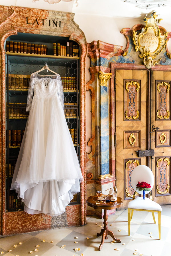 Beauty and the Beast Wedding Dress