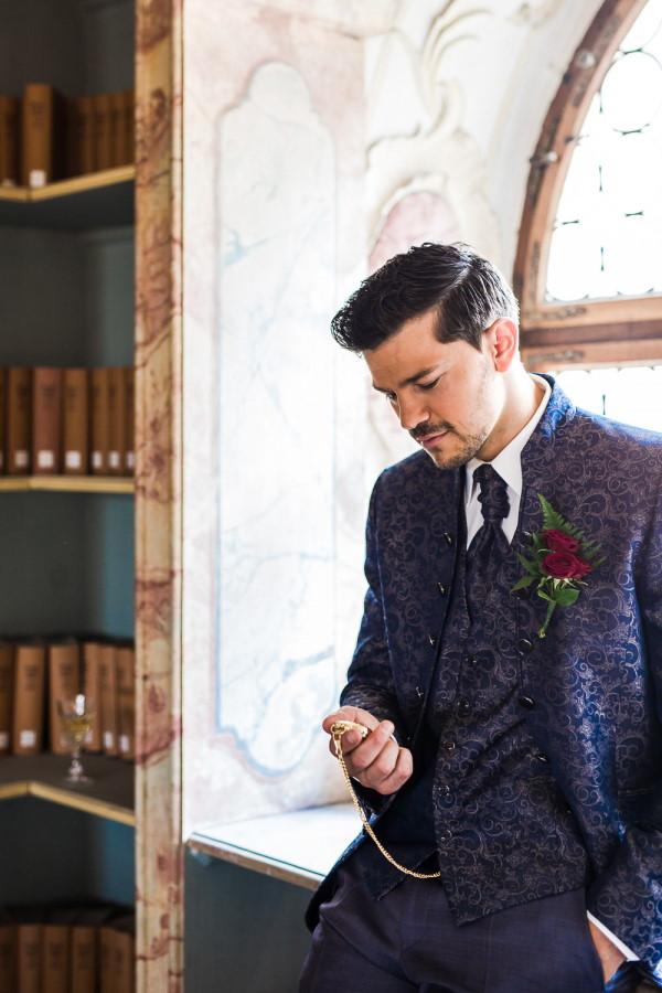 Beauty and the Beast Wedding Prince Adam Groom