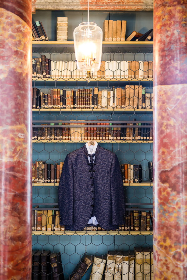 Baroque Style Grooms Suit