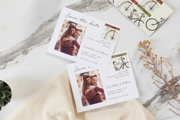 Postcard Wedding Invitation Ideas