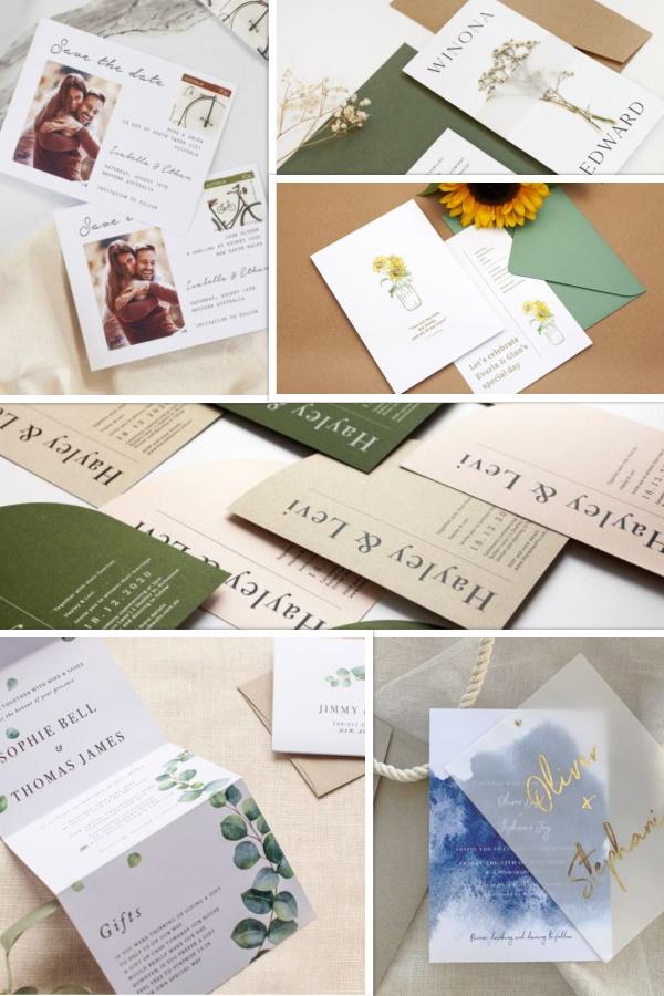 Wedding Invitation Ideas Snapshot