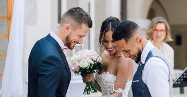 chartreuse de pomier wedding