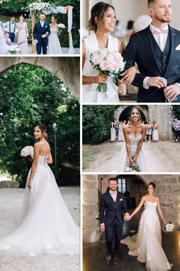 snapshot of wedding chartreuse de pomier