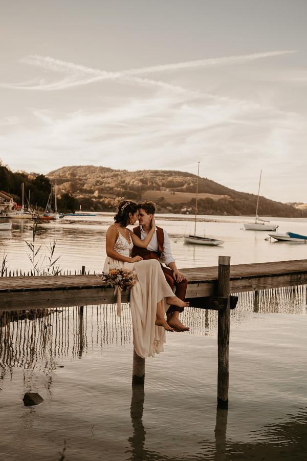 french marina wedding
