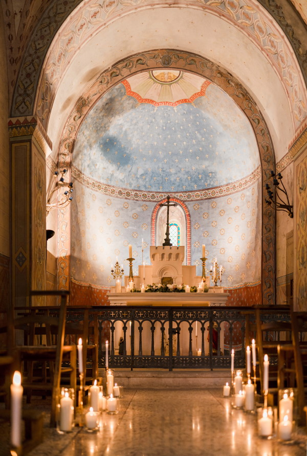 french Chapel wedding