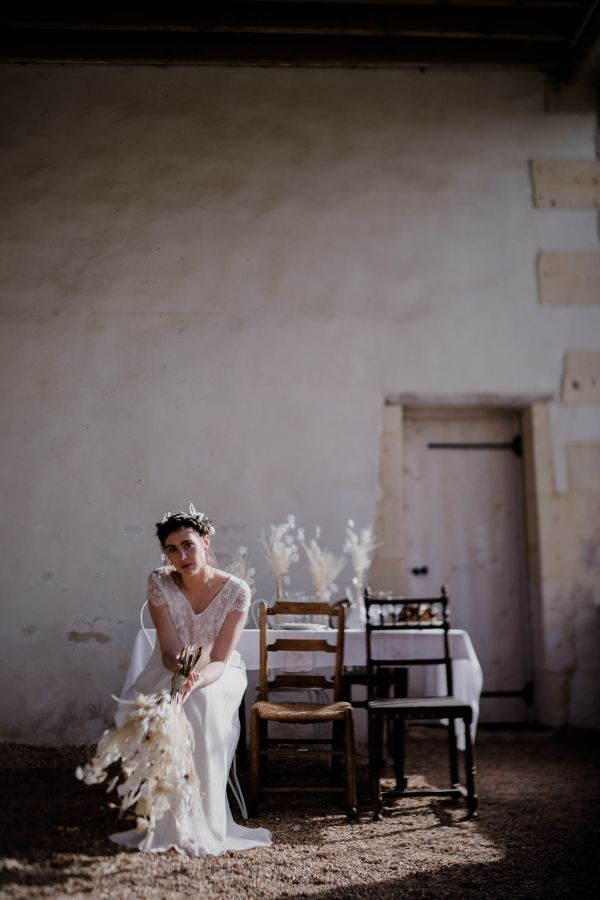 Bride in Afternoon Light