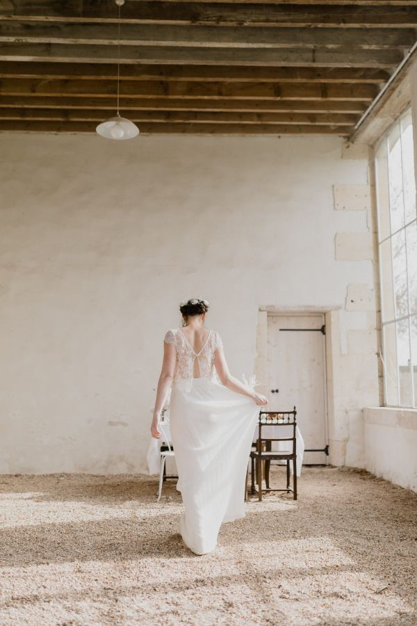 Bridal Gown Back View
