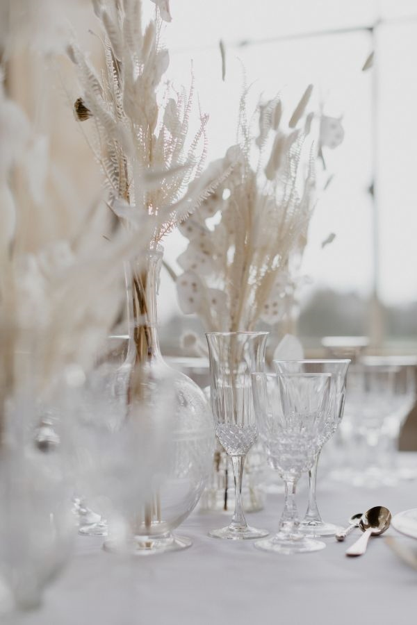1920s Crystal Glassware Closeup