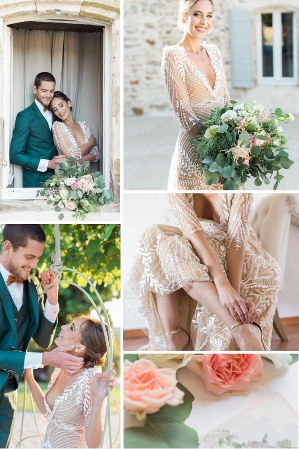 Dreamy Pastel Wedding at Le Clos du Tuilier Snapshot