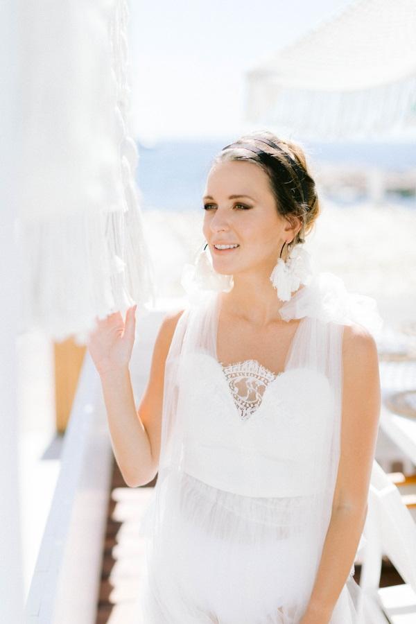 Greek Wedding Inspired Dress in France