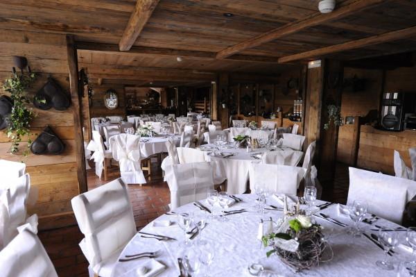 salle de banquet at Hotel les Grands Montets