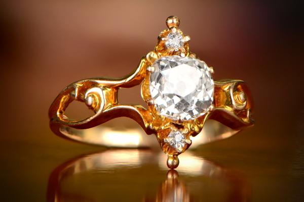 Sheffield Ring. Circa 1880.