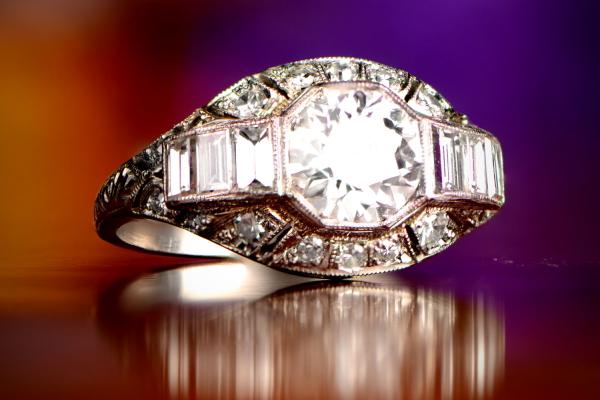 The Preston Ring. Circa 1920.