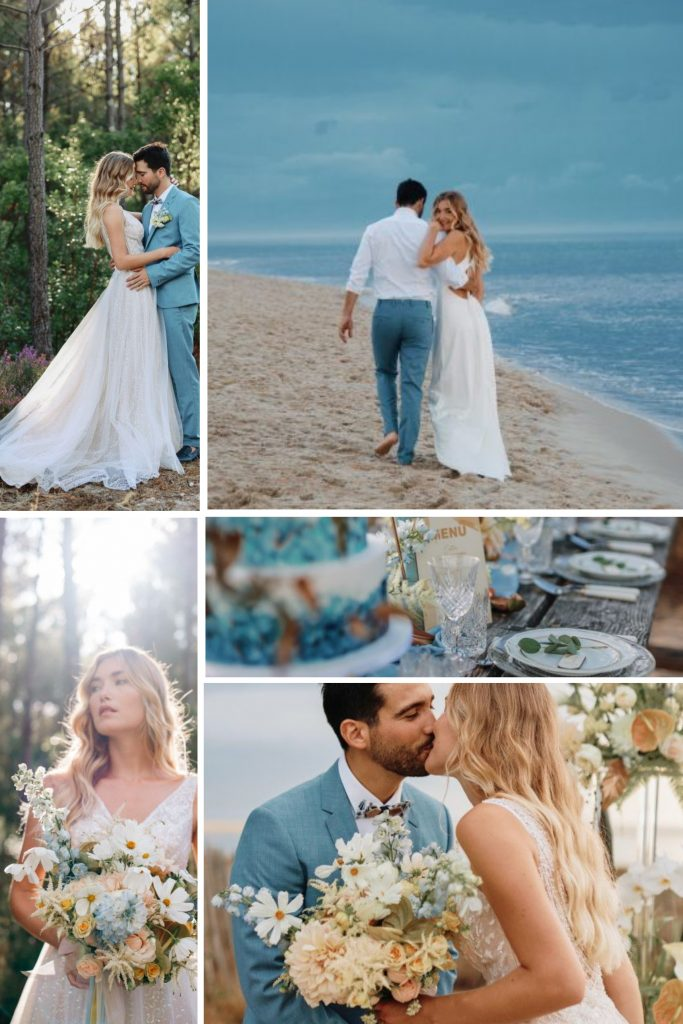 Ocean Wedding in Le Petit Nice Snapshot