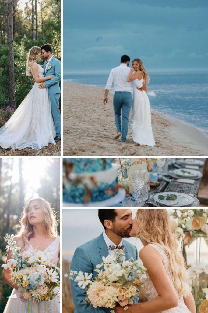 Ocean Wedding in Le Petit Nice Snapshot
