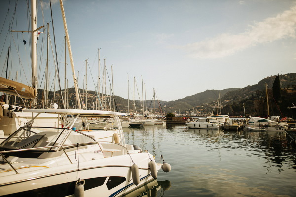 Yacht Marina at Cote d'Azur France for nautical themed wedding
