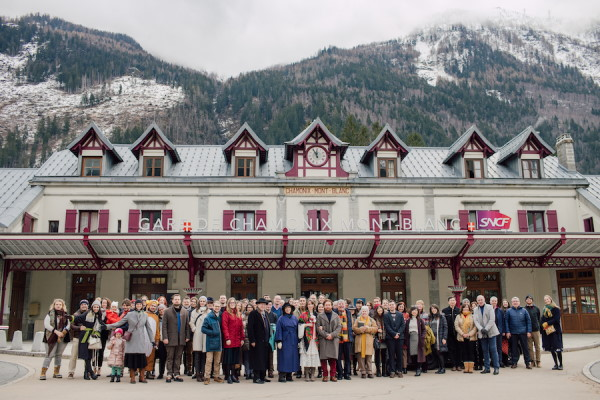 Zero Waste Wedding in French Alps