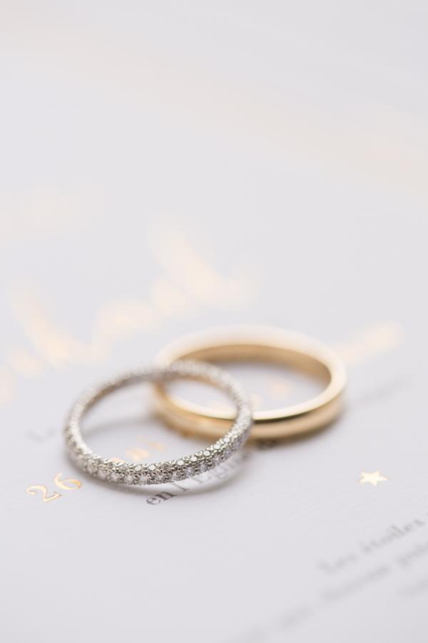 Couples wedding ceremony rings