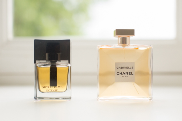 His and Hers Wedding Day Perfumes