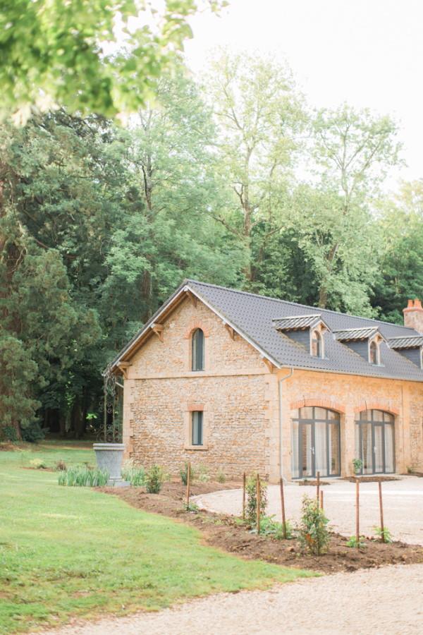 Farmhouse on grounds of Chateau d'Azy