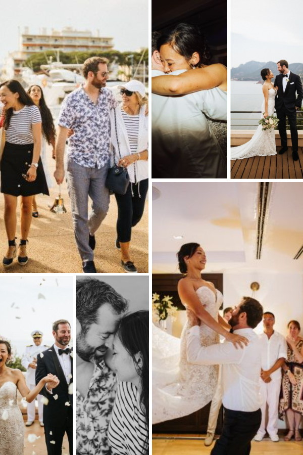 Love Me, Love Me Knot: A Nautical Themed Wedding In France Collage