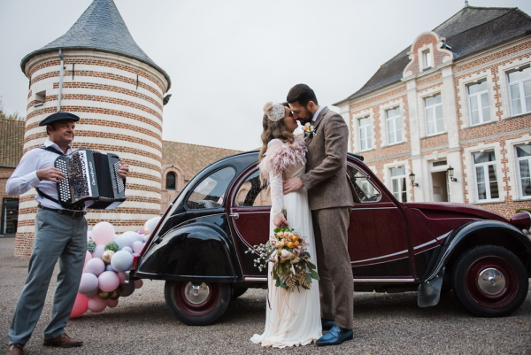 The Road to Giverny - A French Manor House Wedding