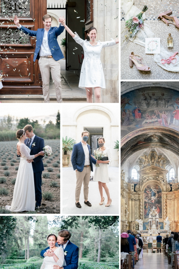 Two-Day Wedding In L'Isle-sur-la-Sorgue Collage