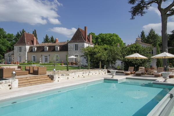 Chateau Lacanaud Dordogne France