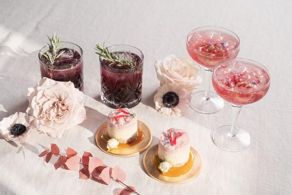 organic wedding cocktails