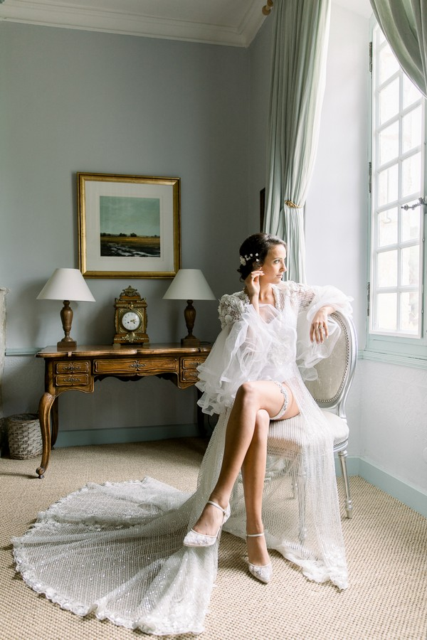 Daria Lorman Photography Chateau Forge du Roy Wedding Editorial 18