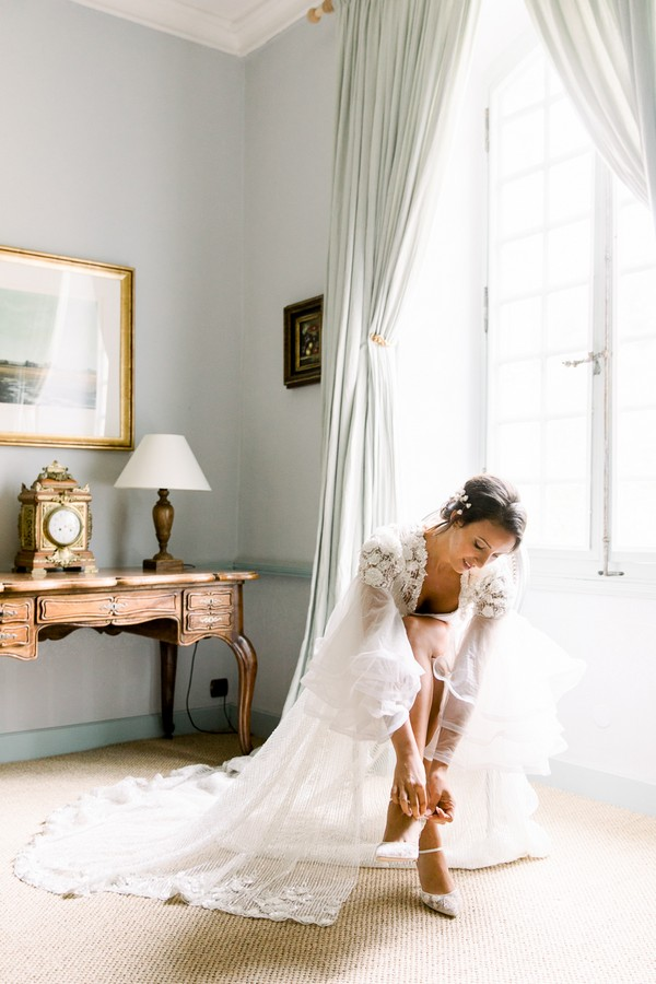 Daria Lorman Photography Chateau Forge du Roy Wedding Editorial 21