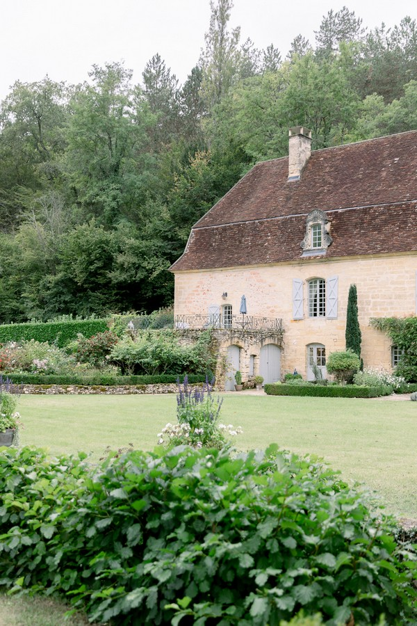 Monet Inspired Garden for French Wedding at Chateau Forge du Roy
