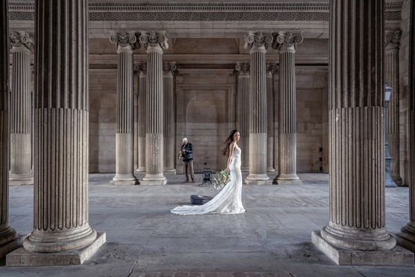 Parisian Bridal Beauty in the City of Love Feature Image