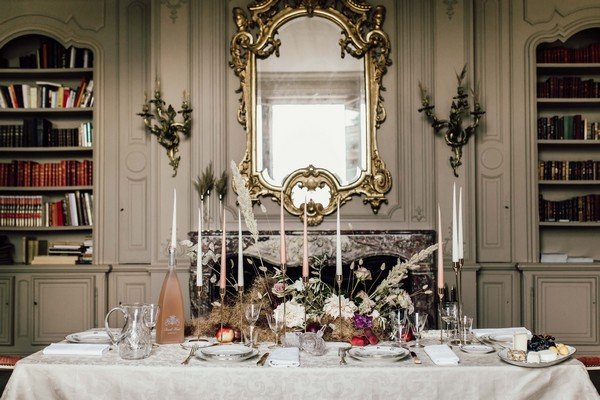 Les Images de Tom Styled shoot Head table 001
