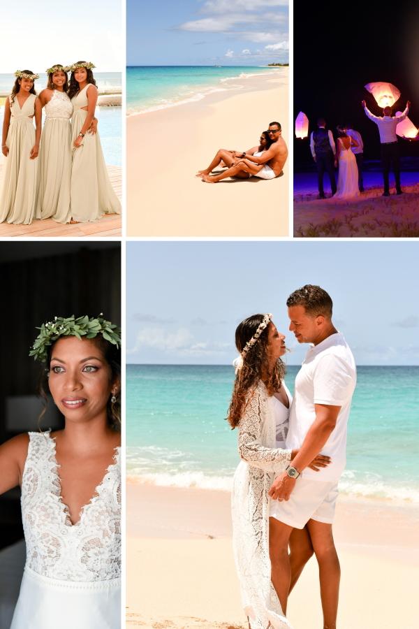 C'est La Vie! - An Elopement Wedding In St Maarten Collage
