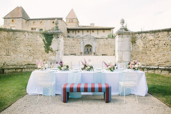 """intimate outdoor wedding table for saying """"yes"""" during covid"""