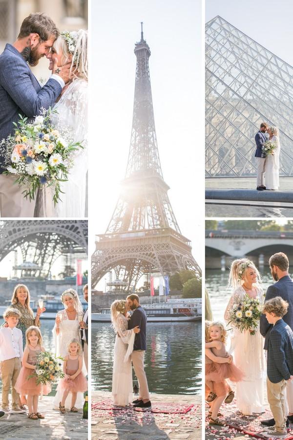 Love Wins - Polly & Jordan in Paris Collage