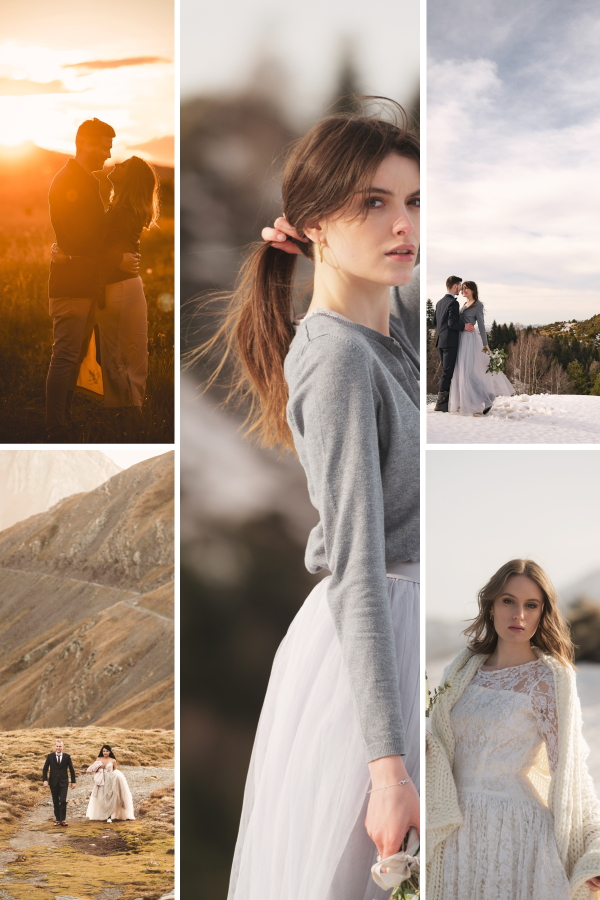 5 Reasons Why Your Couples Shoot Should Be In The Pyrenees Mountains Collage