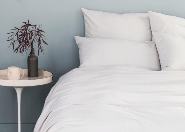 La Chambre Paris beige percale bedding set